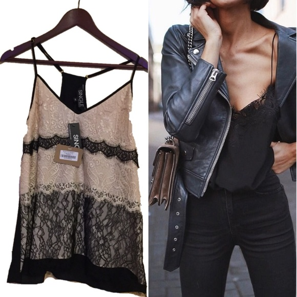 Luxury Vintage Lace camisole scout and Molly
